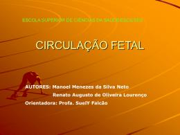CIRCULAÇÃO FETAL (slide)