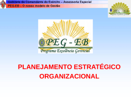 Videoconferência: Planejamento Estratágico Organizacional