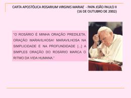 ENCONTRO DE FORMAÇÃO SOBRE A CARTA