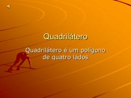 TRABALHO QUADRILATEROS GRUPO DO RONEI
