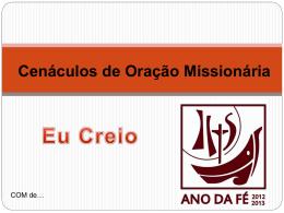 COMJaneiro2013 - Missionários Combonianos