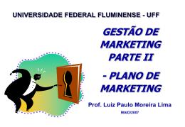 PARTE II - Universidade Federal Fluminense