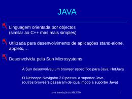 Sobre Java