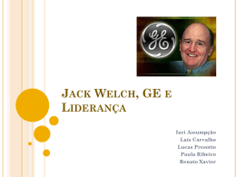 Liderança - Jack Welch