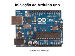 Iniciação ao Arduino Uno