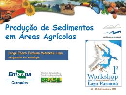 Produção de Sedimentos em Áreas Agrícolas