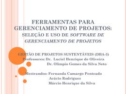 Ferramentas - dba3-2011