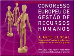 Congresso Europeu de Gestão de Recursos
