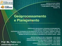 Geoprocessamento e Planejamento