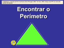 Vamos calcular o perímetro