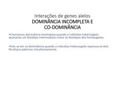 Genética - Escola Rainha do Brasil