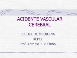 Aula de acidente vascular cerebral