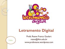 O que significa Letramento Digital? - Professora Reane