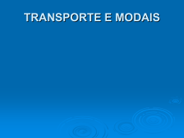 Transportes - Work Space Leandro Petry Maciel