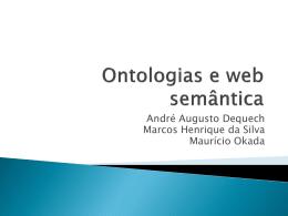 Ontologias e web semântica