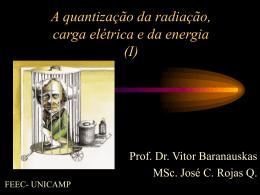 A medida da carga e e de e/m do elétron - DSIF