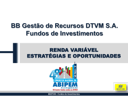 BBDTVM - dm.inf.br
