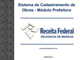 Apresentação do PowerPoint - Associação Amazonense de Municípios
