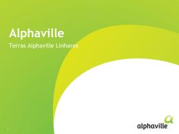 Apresentação Alphaville e Empreendimento