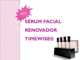 sérum facial renovador timewise