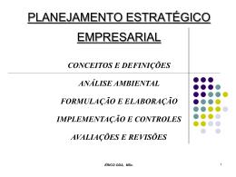 Plan Estrategico Empresarial