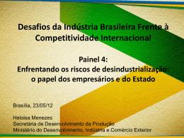 Desafios da Indústria Brasileira Frente à Competitividade