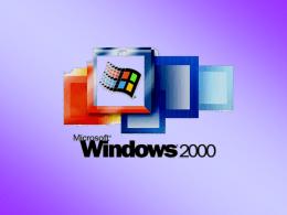 Usuários e Grupos - Windows 2000