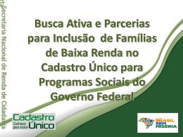 Slide 1 - Secretaria do Trabalho e Desenvolvimento Social