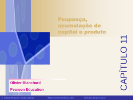 taxa de poupança - Continental Economics Institute