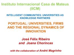 José Félix Ribeiro and Joana Chorincas – Portugal