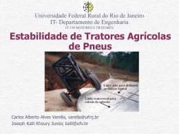 Estabilidade de Tratores Agrícolas de Pneus