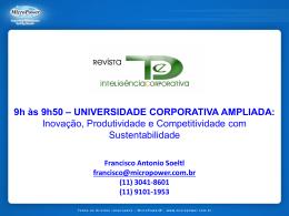 Universidade Corporativa Ampliada