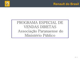 Masque Powerpoint RENAULT - Associação Paranaense do