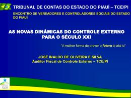 Controle Externo – Auditor José Inaldo