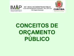 Planejamento Orçamentário PPA, LOA e LDO – Aula II