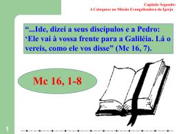CATEQUESE - O QUE É EVANGELIZAR