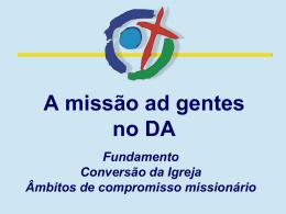 A Missão Ad Gentes no Documento de Aparecida