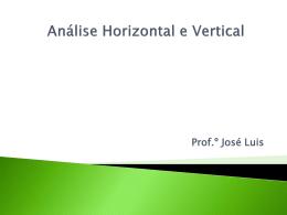 a análise horizontal