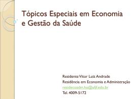 aula: análise e modelos econômicos