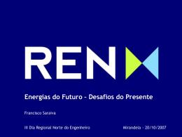 Apresentação Energias do Futuro