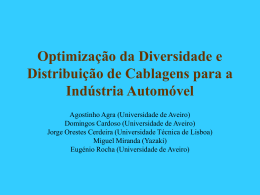 Slides (in Portuguese) - Universidade de Aveiro › SWEET
