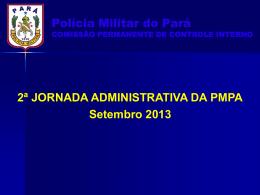 palestra_diarias_set_2013 - Proxy da Polícia Militar do Pará!