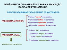 Slide 1 - parâmetros da educação básica de pernambuco