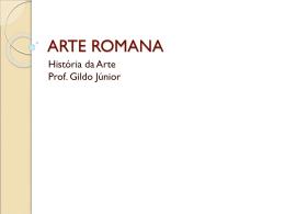 arte-romana1 - Colégio Dom Bosco