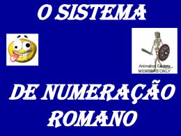 numeração romana