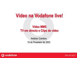 Vídeo MMS - Vodafone