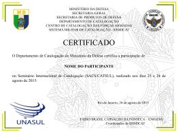 Certificados-Demais PTC - cecafa