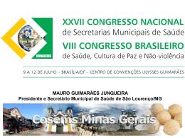 rosilene_congresso - Cosems-MG