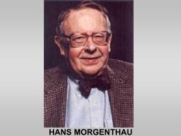HANS_MORGENTHAU