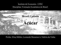 Açúcar - Instituto de Economia da UFRJ